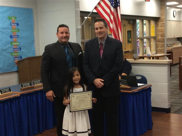 Central Elementary Student of the Month photo
