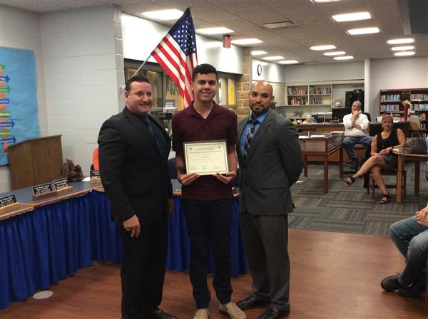 Great Meadows Middle School June Student of the Month Photo