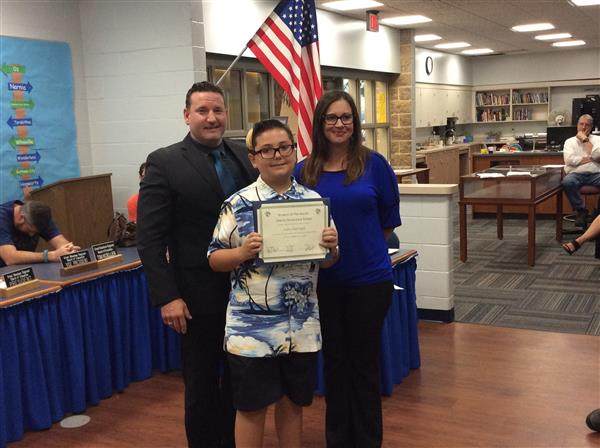 Liberty Elementary Student of the Month Photo