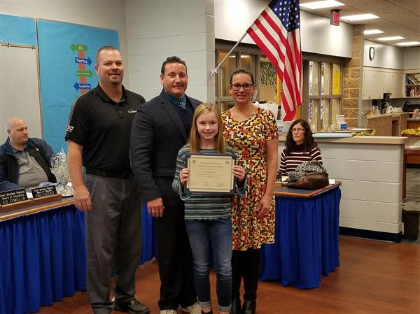 Liberty December Student of the Month photo