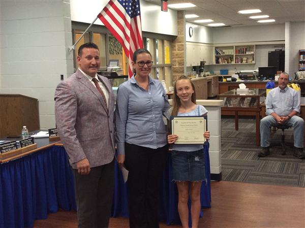 Liberty Student of the Month photo